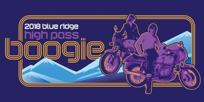 2018 Blue Ridge High Pass Boogie logo