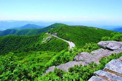 Pavement work will be done near Craggy Gardens and Mount Mitchell