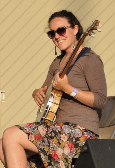 Blue Ridge Music Center banjo player