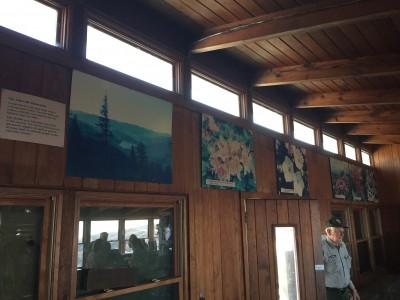 Craggy Gardens Visitor Center Exhibit Revamp Blue Ridge Parkway Foundation