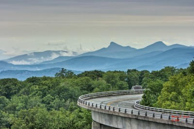 The Linn Cove Viaduct is closed through May 24. Photo by Monty E. Combs