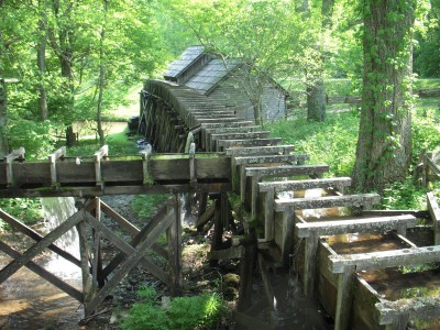 Mabry Mill flume
