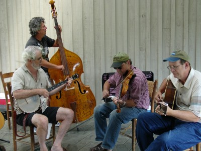Midday Mountain Musicians play from noon to 4 p.m. daily at the Blue Ridge Music Center