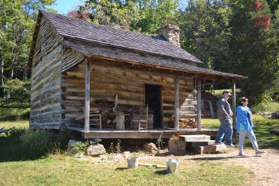 Ramsey Cabin at Humpback Rocks Farm