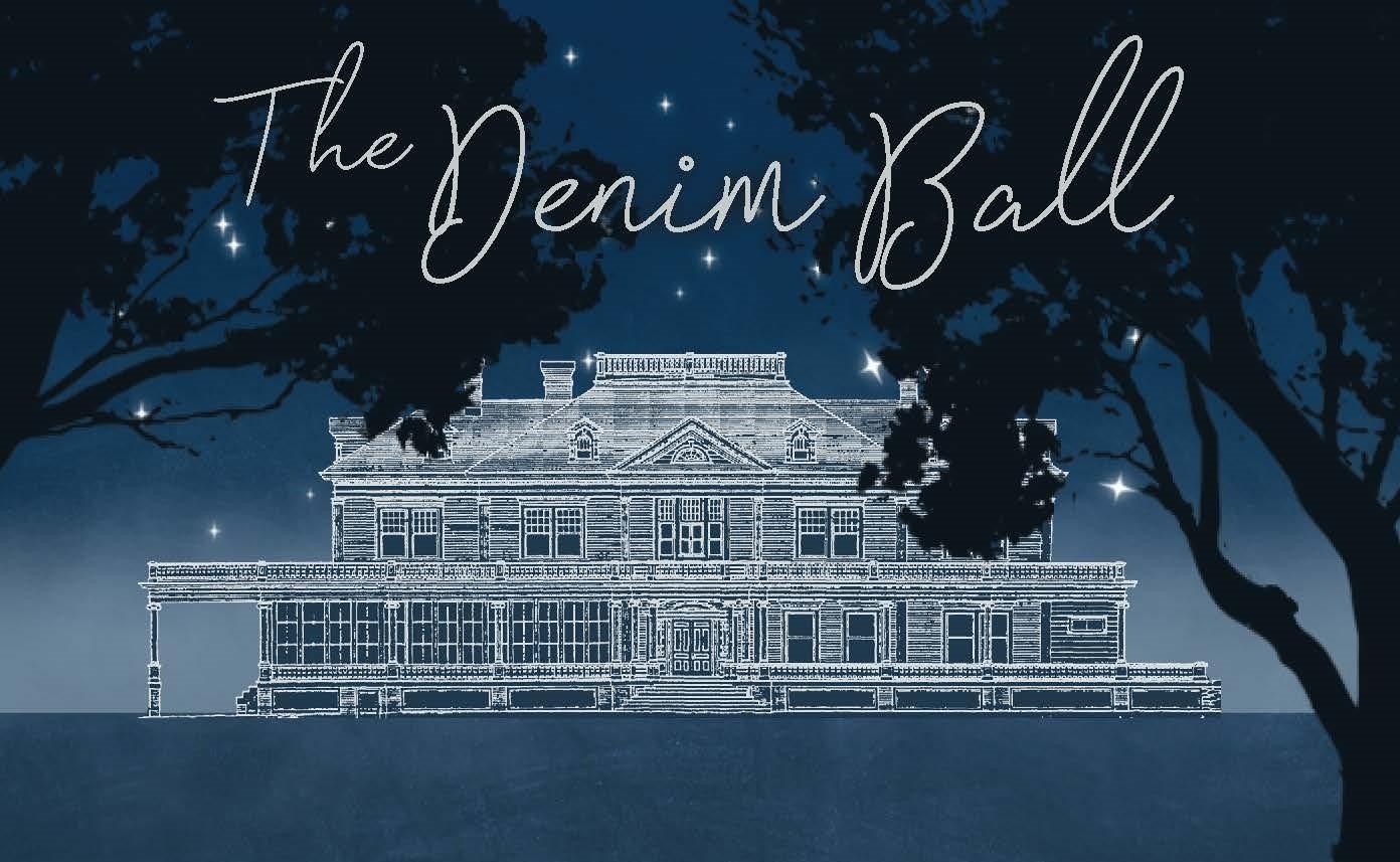Denim Ball invitation