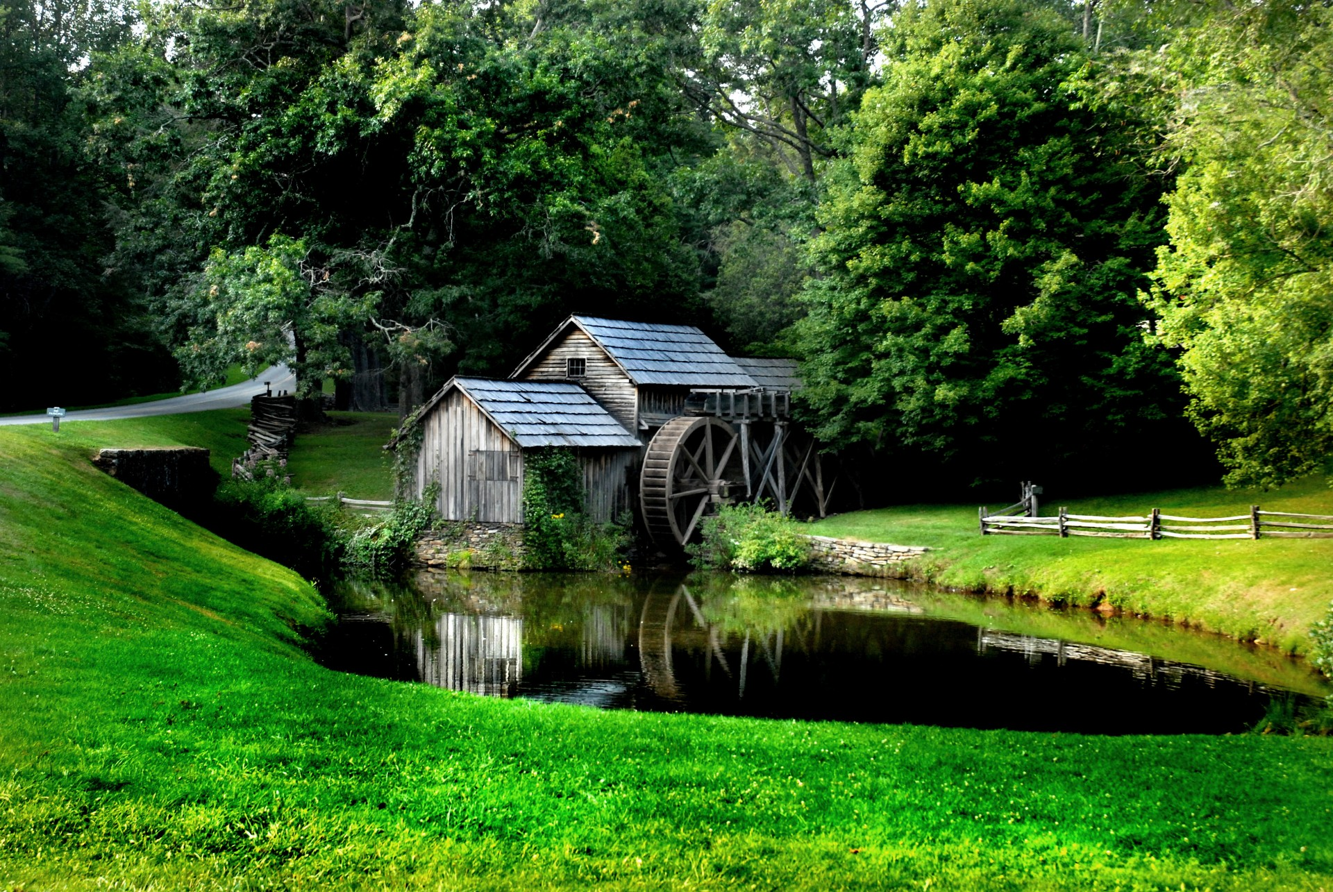 Mabry Mill in Virginia