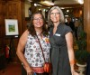Kate Henry and Alisa Hixson at the opening night celebration for Of Valley & Ridge.